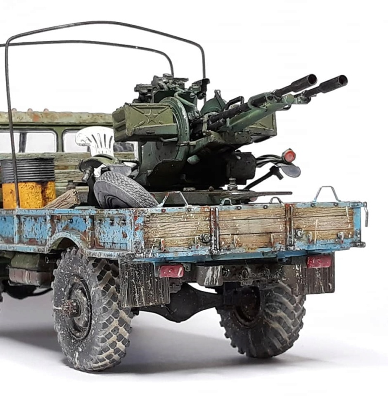GAZ-66 avec canons ZU-23-2 à la sauce Taliban (Trumpeter 1/35) 1418