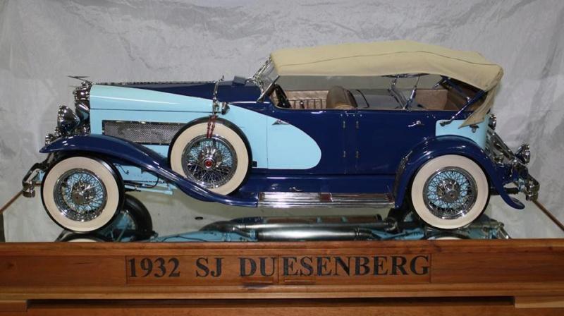 1932 Duesenberg SJ ''scratchbuilt'' 1/6 14646910