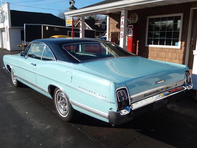 1967 Ford Galaxie 500 XL 427 ''R'' code (transkit en résine) 1967-611