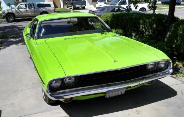 1970 Dodge Challenger ''Deputy'' AMT 1/25 1970-d10