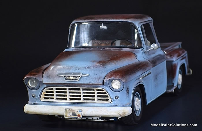 1955 Chevrolet Stepside AMT 1/25 1_110
