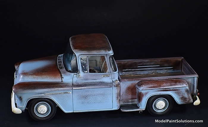 1955 Chevrolet Stepside AMT 1/25 1_210