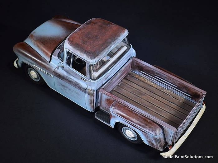 1955 Chevrolet Stepside AMT 1/25 1_310