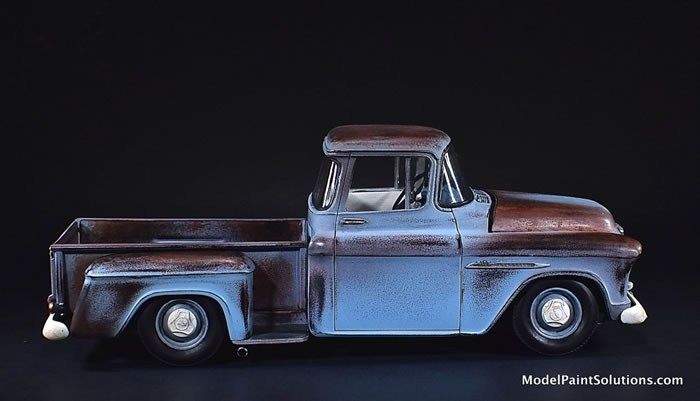 1955 Chevrolet Stepside AMT 1/25 1_410