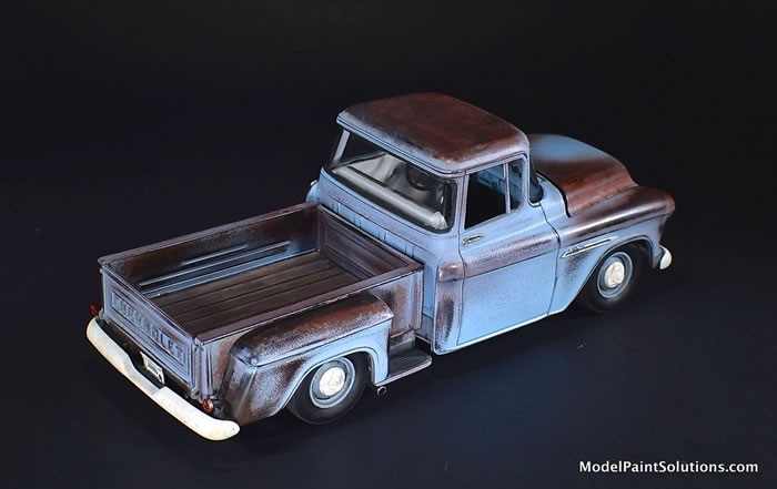 1955 Chevrolet Stepside AMT 1/25 1_510