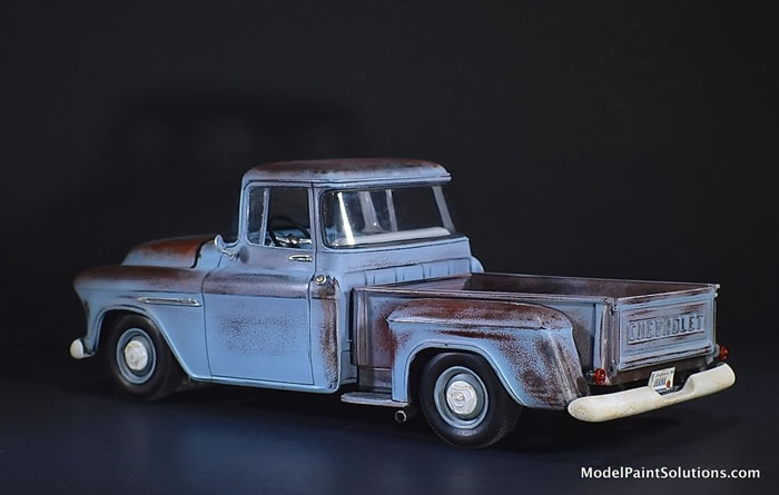 1955 Chevrolet Stepside AMT 1/25 1_610