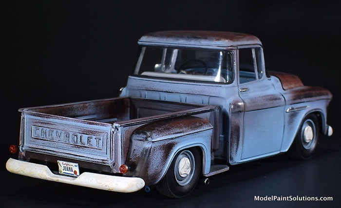 1955 Chevrolet Stepside AMT 1/25 1_710