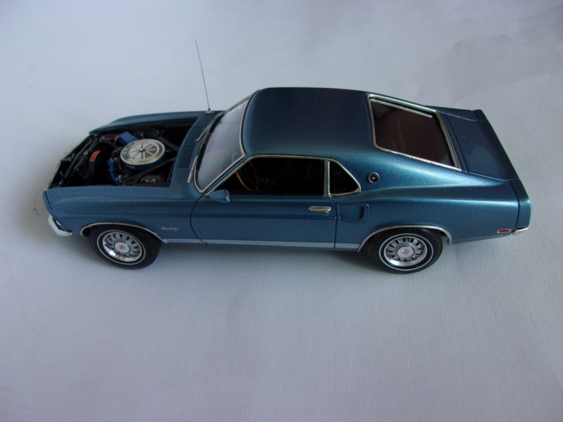 1969 Ford Mustang GT, Revell 1/25 222