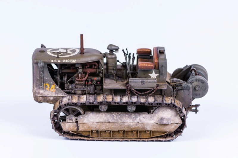Tracteur militaire CAT D7N avec treuil de chez MiniArt 1/35 225