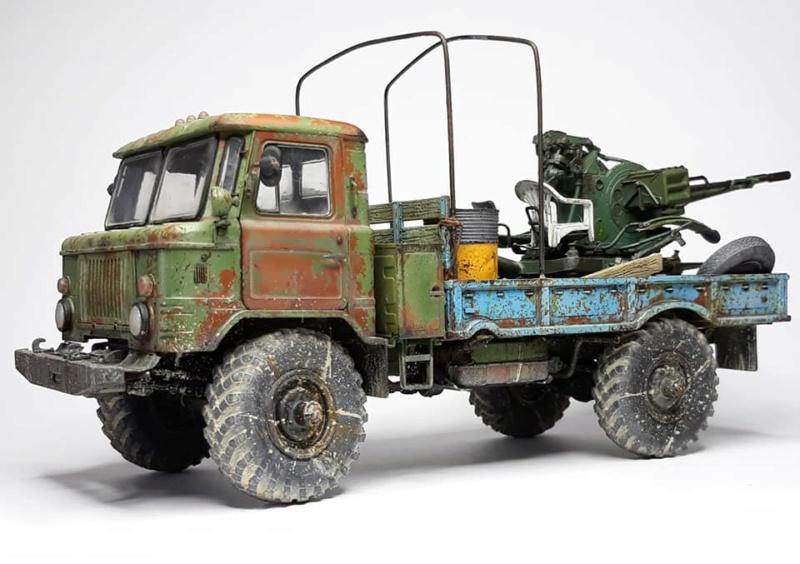 GAZ-66 avec canons ZU-23-2 à la sauce Taliban (Trumpeter 1/35) 226