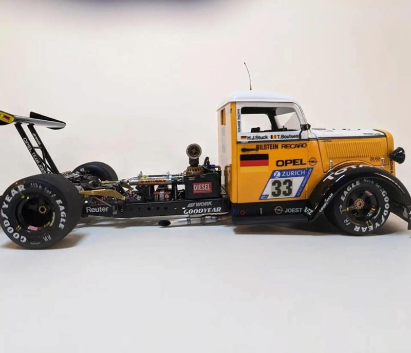 Opel Blitz, Revell 1/24 23988010