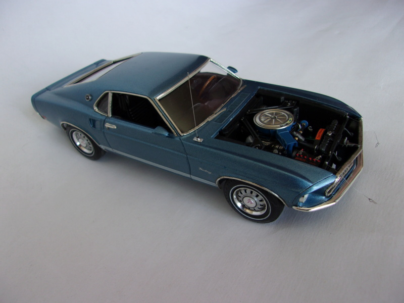 1969 Ford Mustang GT, Revell 1/25 321