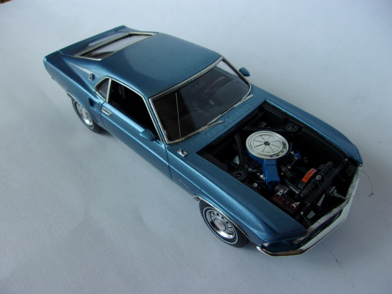 1969 Ford Mustang GT, Revell 1/25 420