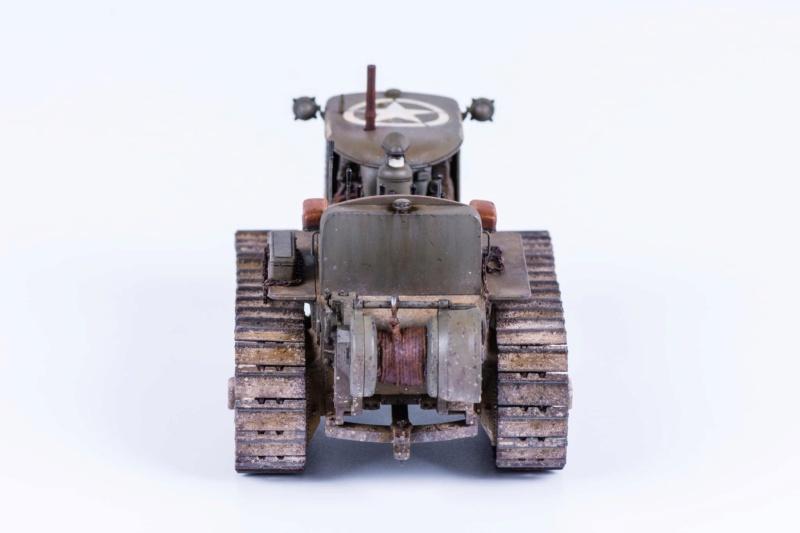 Tracteur militaire CAT D7N avec treuil de chez MiniArt 1/35 423