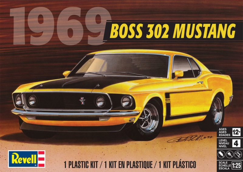 "1969 Boss 302 Revell ""New Tooling"" 4313_p10"