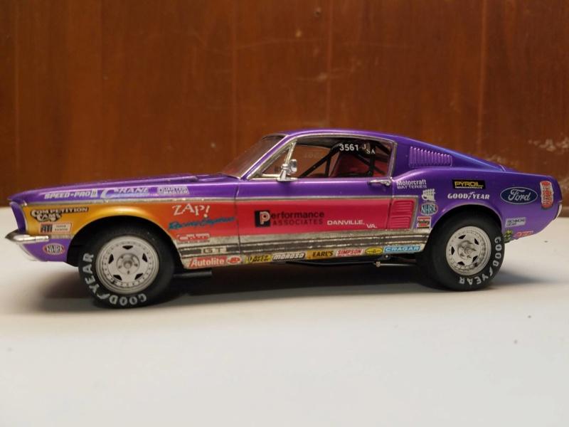 1967 Mustang GT/A 390 J/SA de AMT 48426410