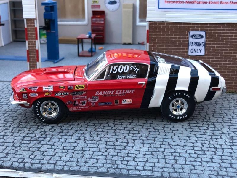 1968 Mustang 428 CJ SS/F Sandy Elliott 49442910
