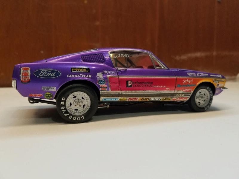 1967 Mustang GT/A 390 J/SA de AMT 49539510