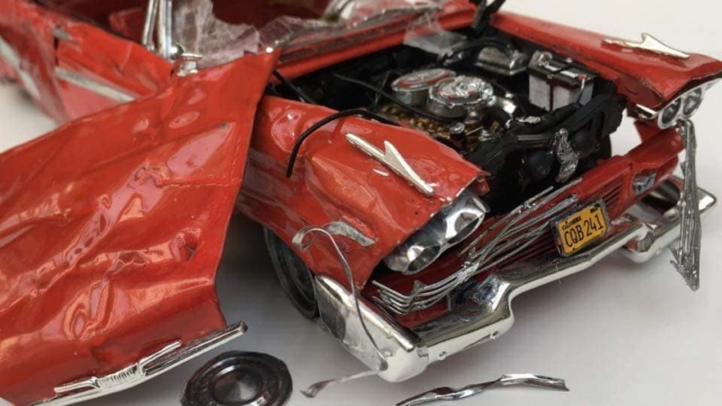"1957 Plymouth Fury ''Christine"" AMT 1/25 49579310"