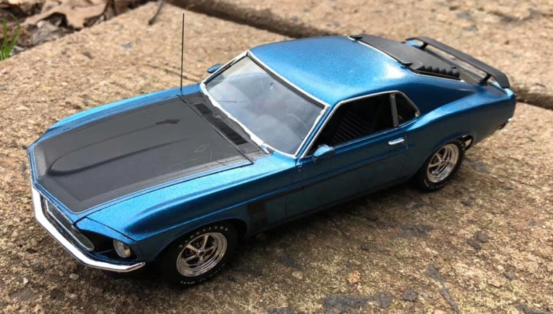 "1969 Boss 302 Revell ""New Tooling"" 49649110"