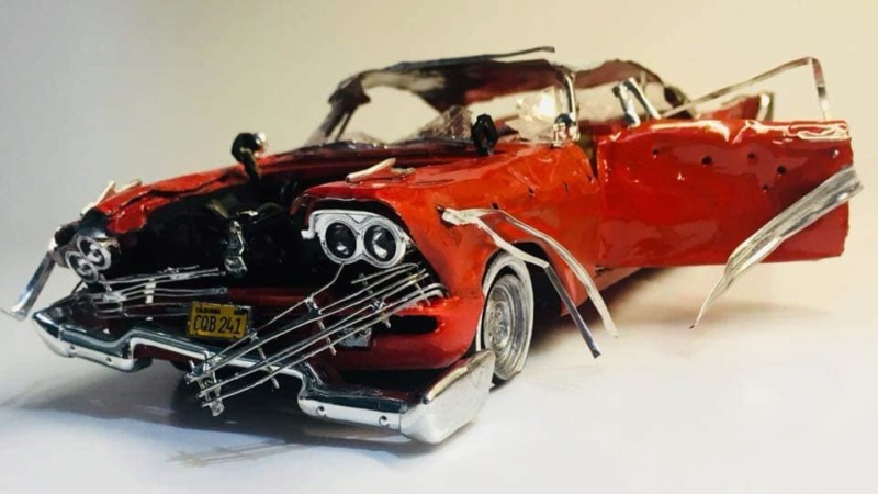 "1957 Plymouth Fury ''Christine"" AMT 1/25 49947110"