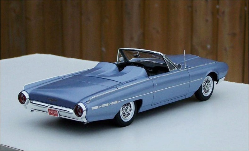 1962 Ford Thunderbird de AMT 51229410