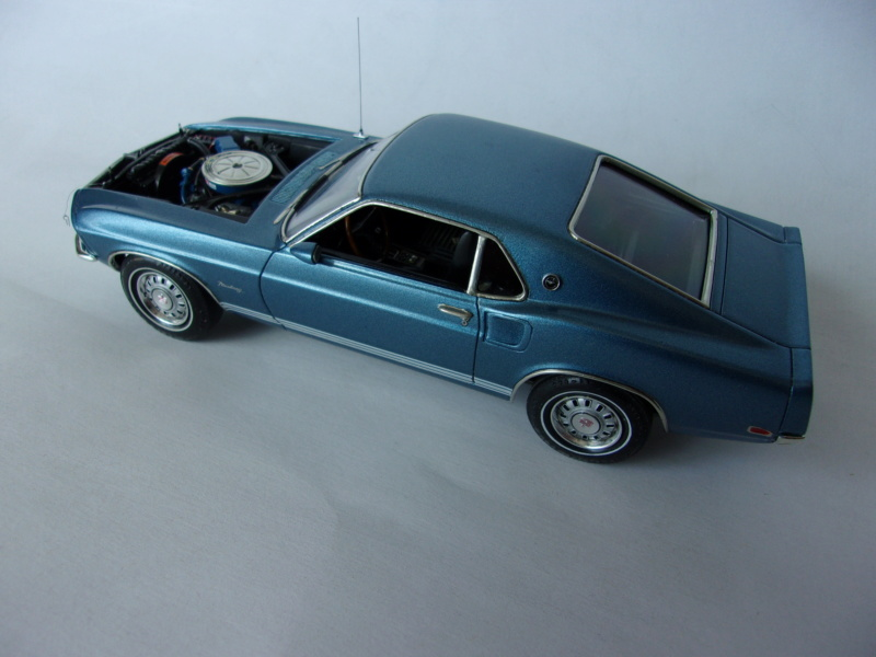 1969 Ford Mustang GT, Revell 1/25 520