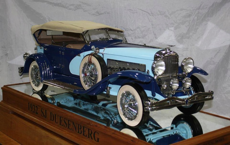 1932 Duesenberg SJ ''scratchbuilt'' 1/6 52203210