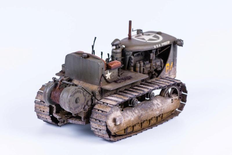 Tracteur militaire CAT D7N avec treuil de chez MiniArt 1/35 523