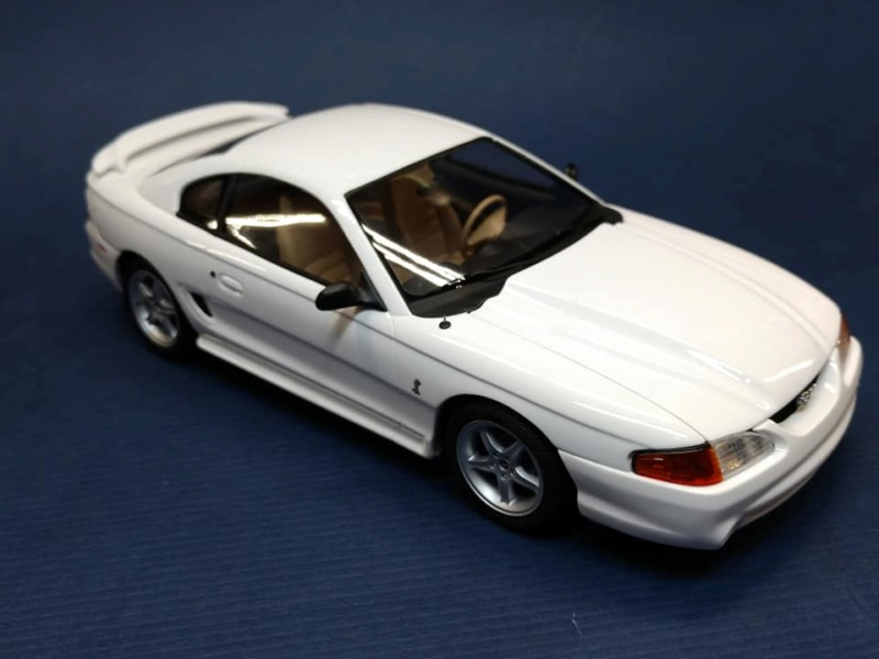 1995 Mustang SVT Cobra R 351 de Tamiya 1/24 52360910