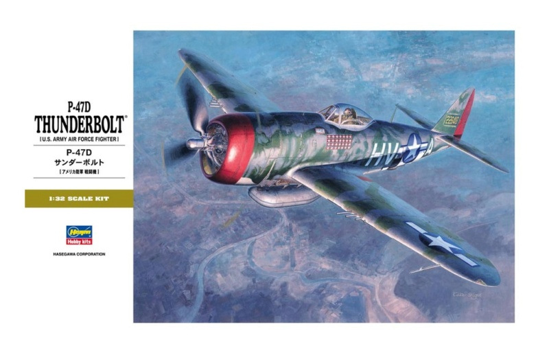 Republic P-47D Thunderbolt Hasegawa 1/32 57798111