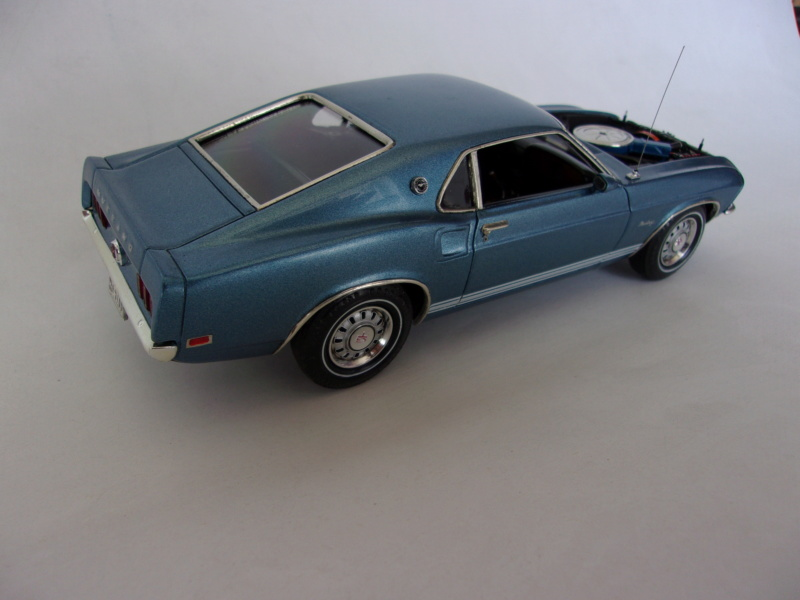 1969 Ford Mustang GT, Revell 1/25 619