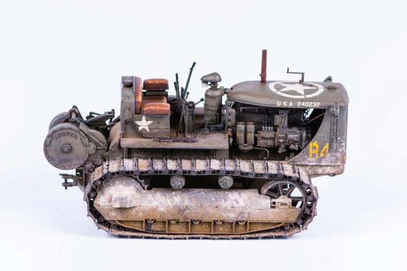 Tracteur militaire CAT D7N avec treuil de chez MiniArt 1/35 621