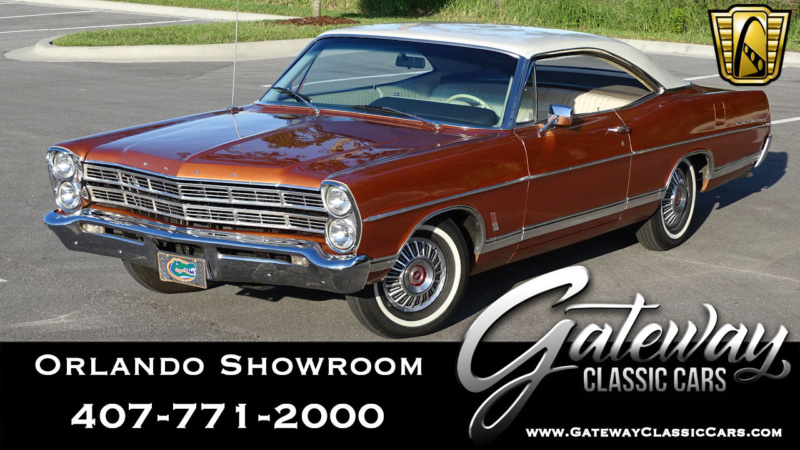 1967 Ford Galaxie 500 XL 427 ''R'' code (transkit en résine) 67_gal11