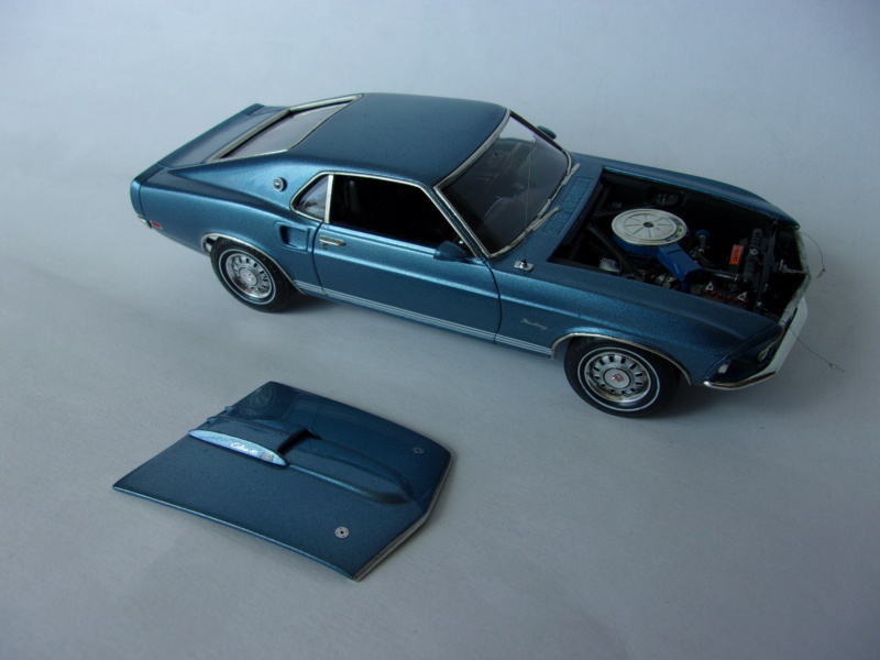 1969 Ford Mustang GT, Revell 1/25 718