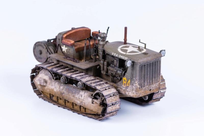 Tracteur militaire CAT D7N avec treuil de chez MiniArt 1/35 721