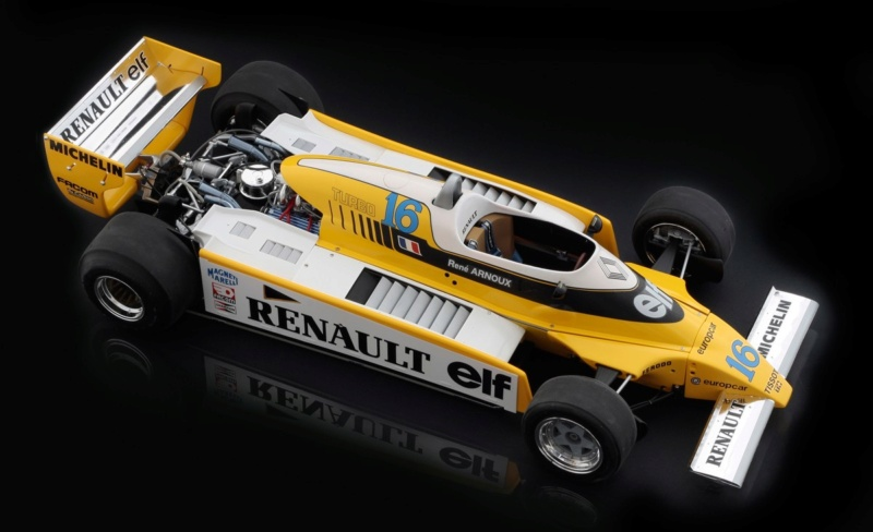 Renault RE20 Turbo F1 Italeri 1/12 Alto10