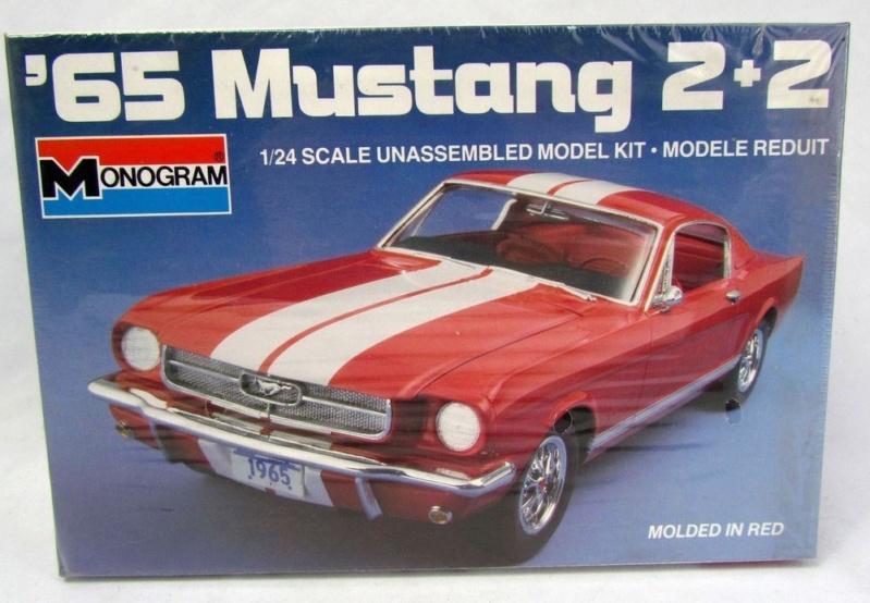 1965 Mustang 2+2 de Monogram 1/24 Dae99910
