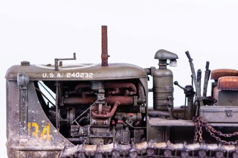 Tracteur militaire CAT D7N avec treuil de chez MiniArt 1/35 Q111