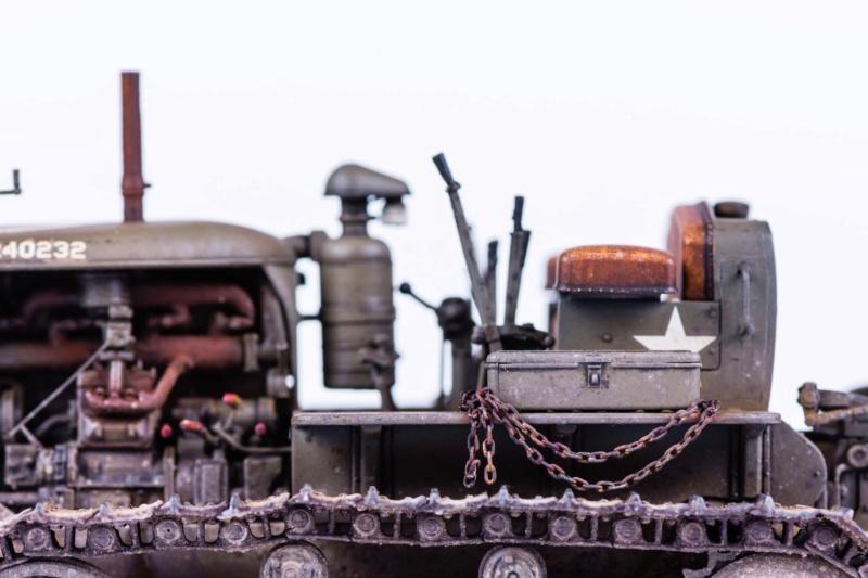 Tracteur militaire CAT D7N avec treuil de chez MiniArt 1/35 Q211