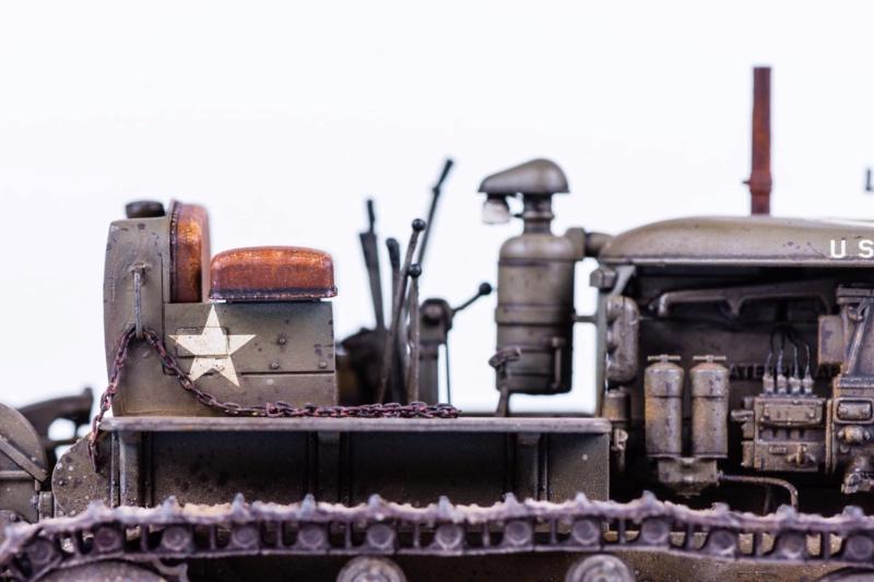 Tracteur militaire CAT D7N avec treuil de chez MiniArt 1/35 Q311