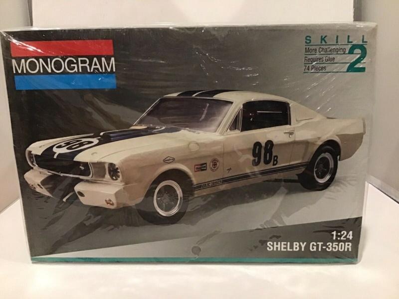 La première 1965 Shelby GT-350 R produite à l'encan Mecum! S-l16036