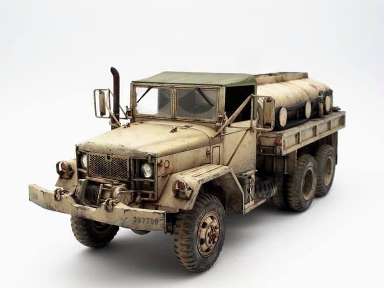 Camion-citerne M49A2C, USMC ''Operation Desert Storm'' AFV Club 1/35 Usmc_m10