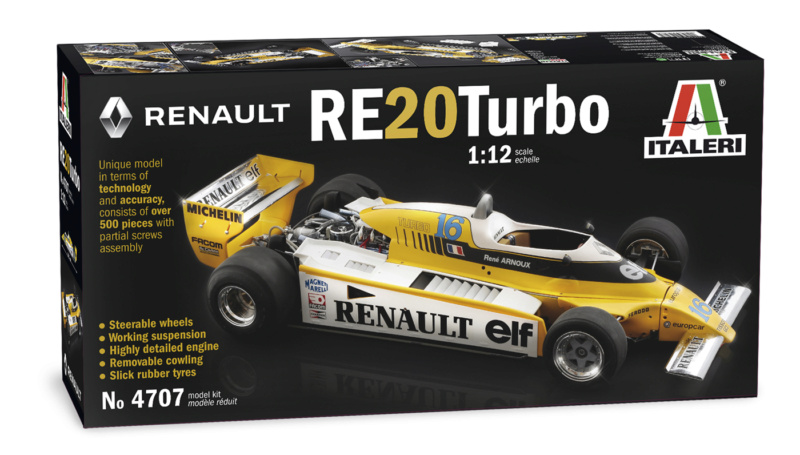 Renault RE20 Turbo F1 Italeri 1/12 Yproka10