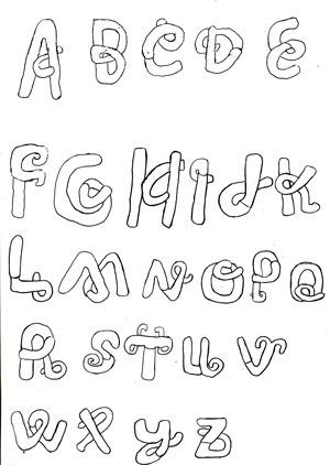 Assignment 12: Graffiti Alphabet due Oct 22 Letter10