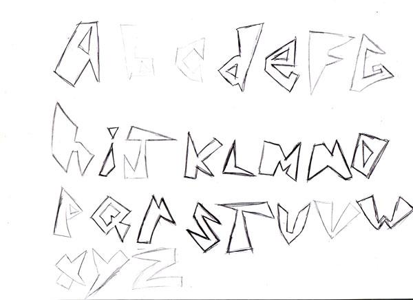 Assignment 12: Graffiti Alphabet due Oct 22 Untitl11