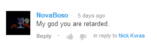 Youtube Comments Nick_k11