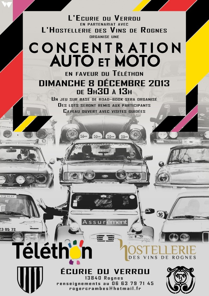 [13][08/12/2013] L'Ecurie du Verrou fait son Téléthon Affich10