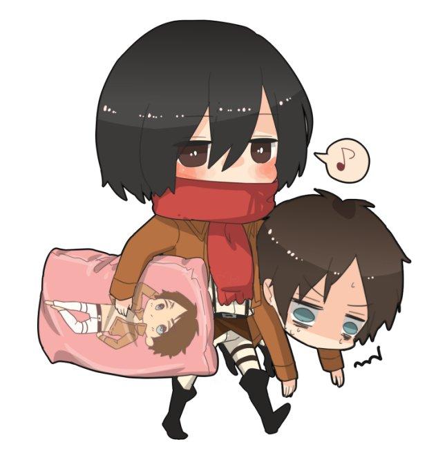Vos plus belles images de SnK !  Mikasa13