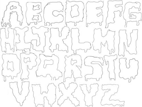 Assignment 12: Graffiti Alphabet due Oct 22 Fdsafd10